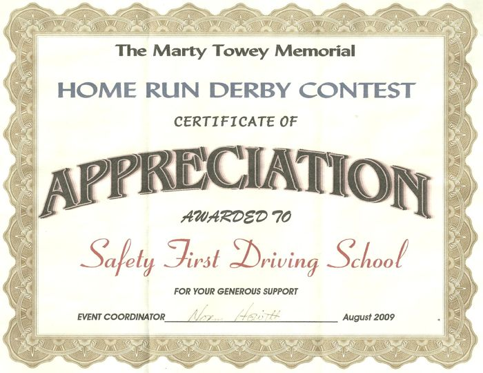 Marty Towey Memorial